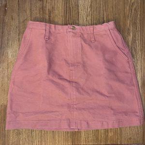 Urban Outfitters (renewal) Pink Denim Skirt